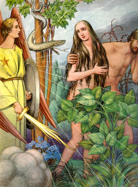 exploring the symbolism of the bibles story of adam eve and the apple Learn about world view on referencecom including: fortune, paranormal, philosophy and much more  numerology studies the symbolism of numbers,.