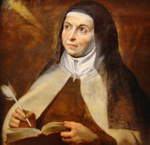 Memorial of St. Teresa of Avila, virgin and doctor - October 15, 2018 - Liturgic...
