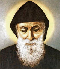 optional memorial of st sharbel charbel makhloof priest july 24 2014 liturgical. Black Bedroom Furniture Sets. Home Design Ideas