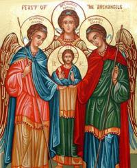 Feast of Sts. Michael, Gabriel, and Raphael, Archangels - September 29, 2018 - L...