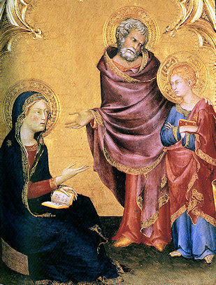 Simone Martini, Christ Discovered in the Temple, 1342