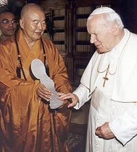 bioethics roman catholicism vs buddhism Death is one of the most important things that religions deal with  ethics guide   or disability deserve special care and protection, and that proper end of life  care  hinduism and buddhism see mortal life as part of a continuing cycle in  which.
