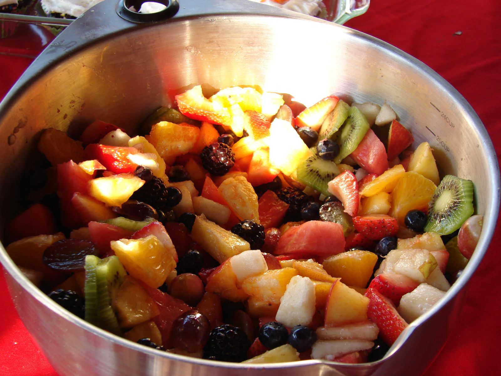 Twelve Fruit Salad
