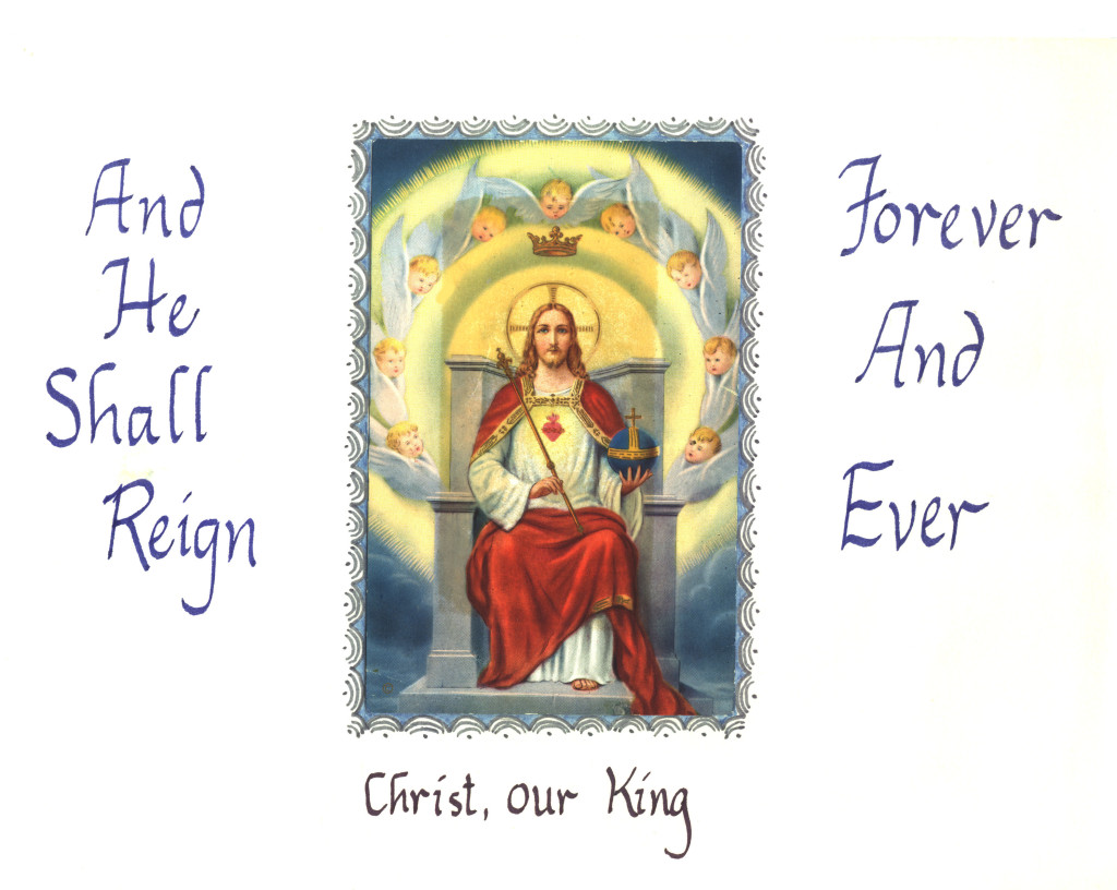Feastday Highlights Solemnity Of Christ The King Catholic Culture